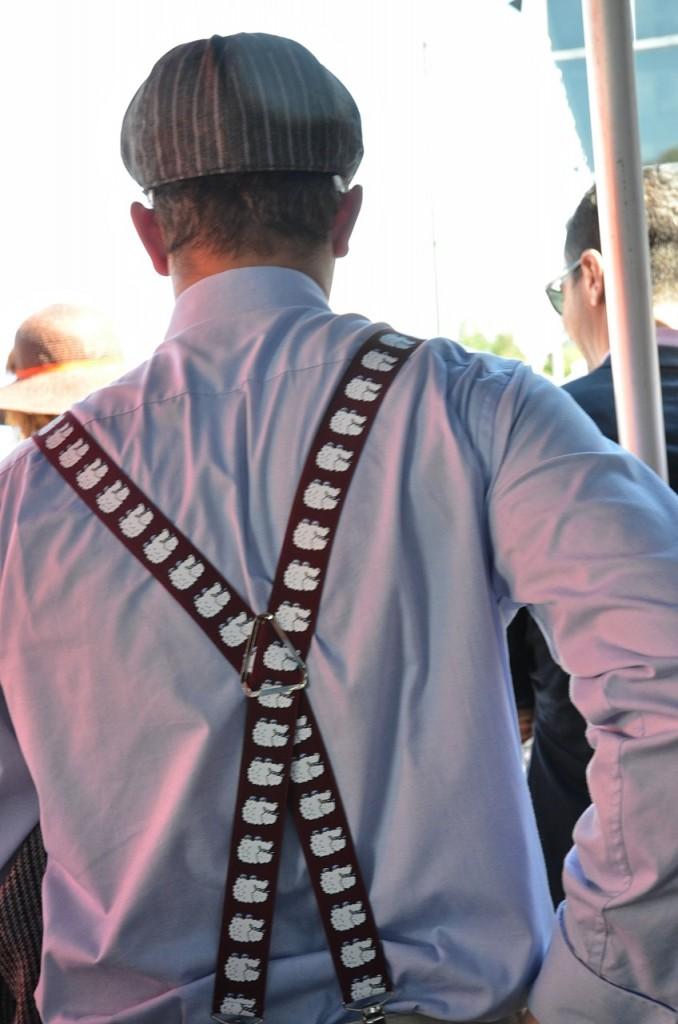 Loved those suspenders.